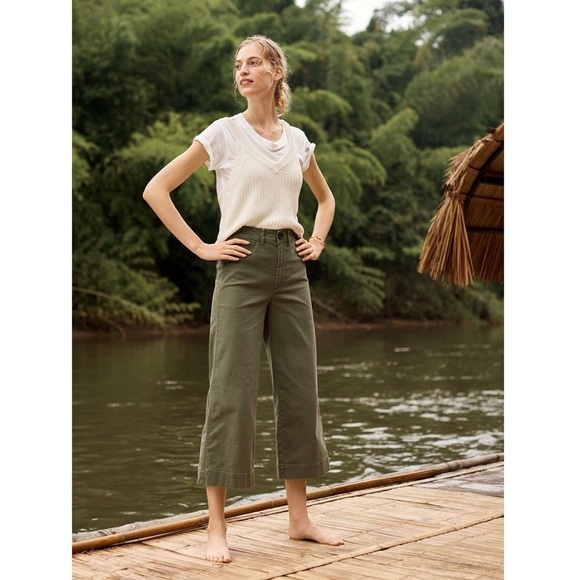 6f965a1f74b Madewell Emmett Wide-leg crop pants